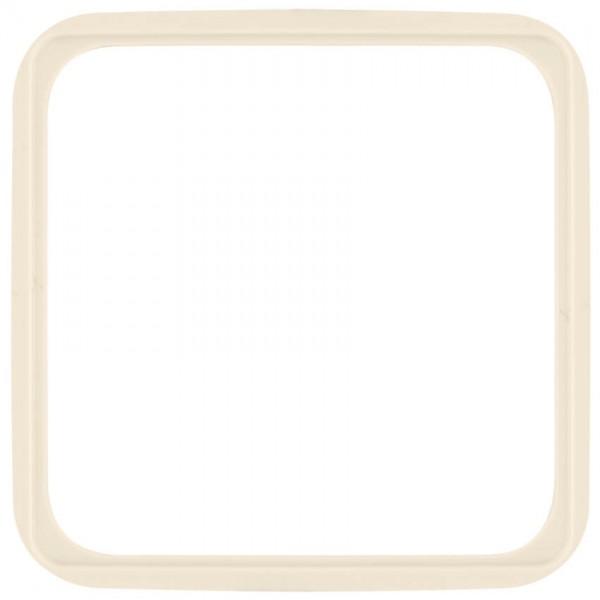 KLEIN®-SI - Zwischenrahmen für Geräte 50x50mm cremeweiß