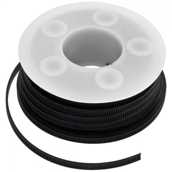 Kabelband für Kabelbinderpistole, BIS STARLOCK -schwarz, UV-beständig