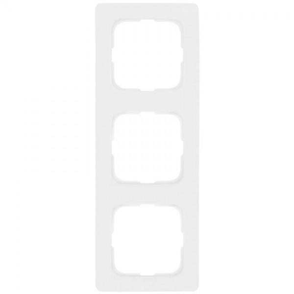KLEIN®-SI - Rahmen 3-fach linear reinweiß