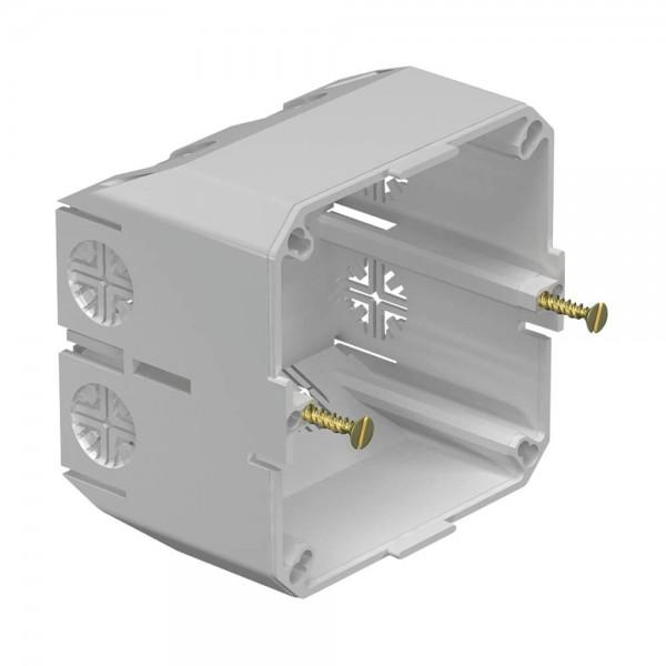 OBO® - Geräteeinbaudose für PVC- Kanäle und Brüstungskanäle mit Seitenhöhe 60 und 70 mm