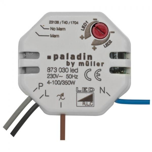 LED- Einbau Tastdimmer 4-100Watt