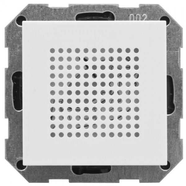 GIRA® - Kombi-Unterputz-Lautsprecher, SYSTEM 55, reinweiß glänzend