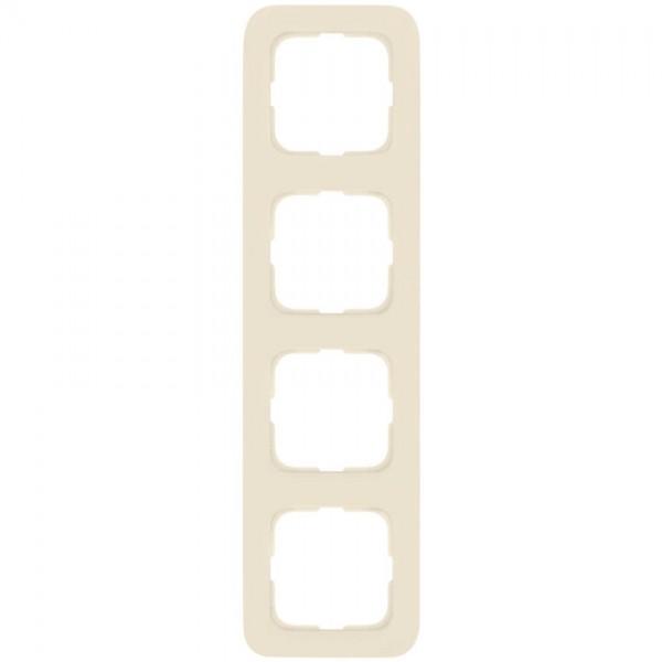 KLEIN®-SI - Rahmen 4-fach cremeweiß