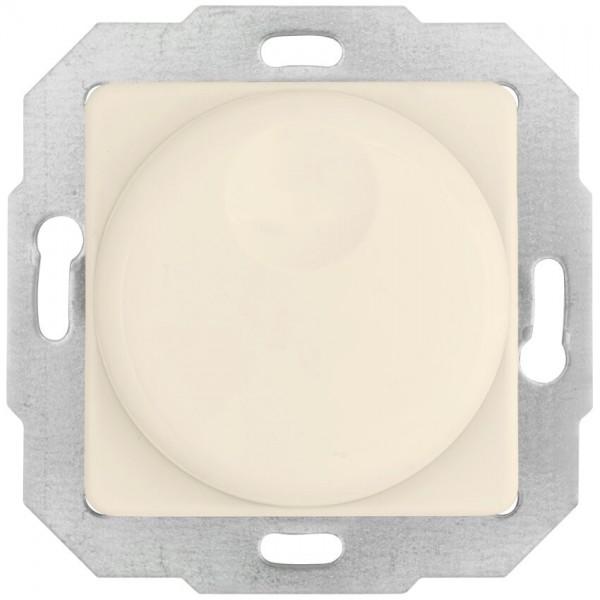 KLEIN®-SI - Kombi-Dimmereinsatz weiß (cremeweiß), Druck-Wechsel, AGL 40-600W