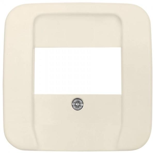 BUSCH-JAEGER® - DURO 2000 SI® - Zentralplatte, für 3-fach-TAE-Steckdose, cremeweiß