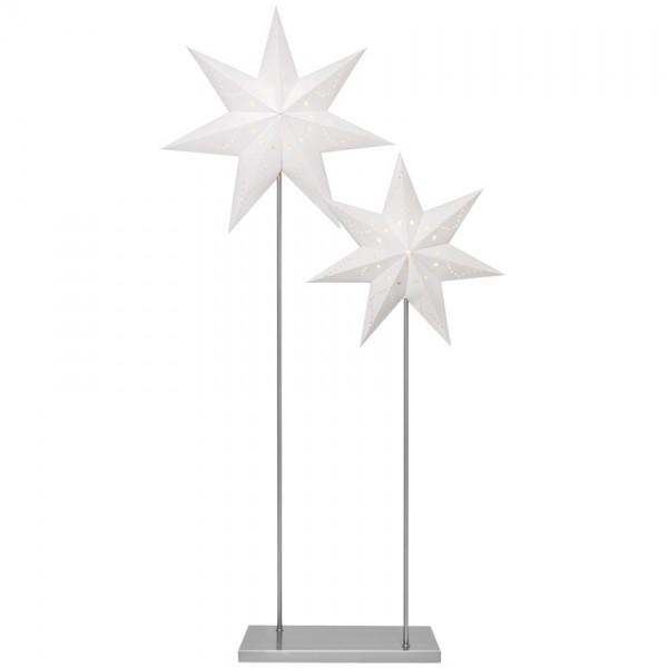 Stand-Weihnachtsleuchter, H 120cm, 88cm, 2 x E14/25W