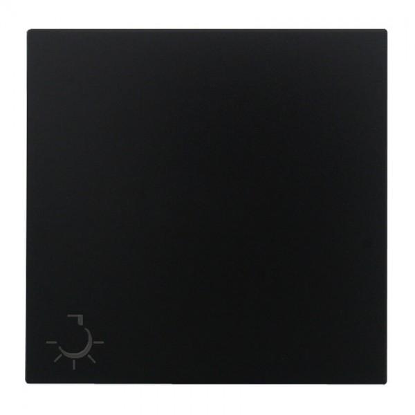 """EFAPEL® - Wippe mit Symbol """"Licht"""", für Taster, LOGUS 90, schwarz matt"""