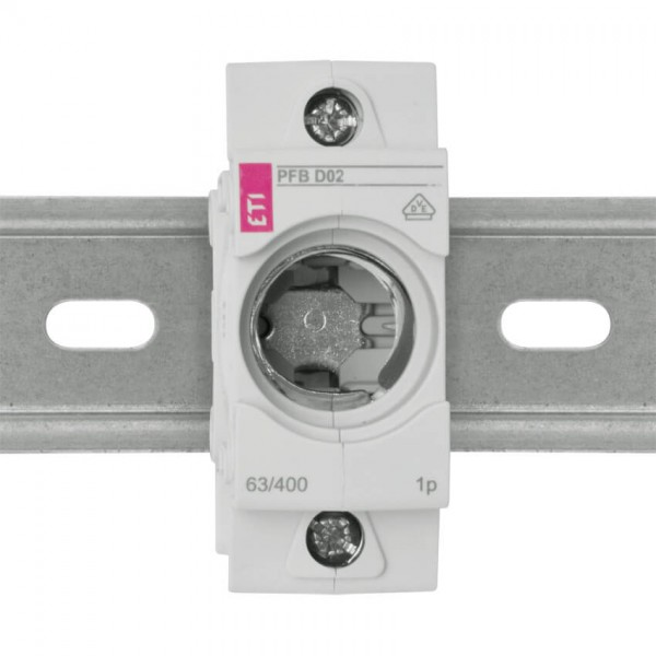 Einbausicherungssockel D02/63A mit Berührungsschutz 3 Stück