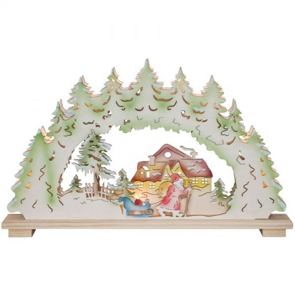 Weihnachtsleuchter, Weihnachtsnacht, 10 x E10/24V/3W