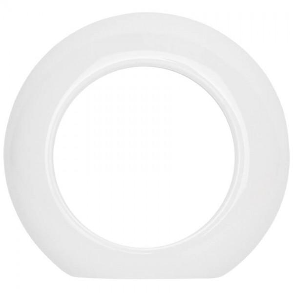 THPG Thomas Hoof - Abdeckrahmen, für Anschlussdosen, Endstück, Porzellan weiß