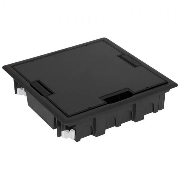 EFAPEL® - Bodeneinbaudose mit Klappdeckel, für 8 Module 45 x 45 oder 16 Module 22,5 x 45