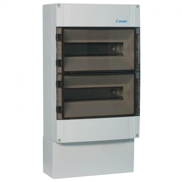 AP-Verteilerkasten IP 65 2-reihig für 25 Module