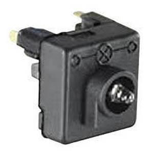 KOPP® - AP/FR - proAQA® - grau/hellgrau - Glimmlampe für Schalter und Taster, 0,65 mA