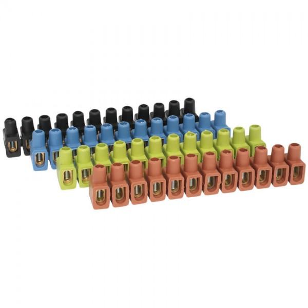 Dosenklemme, Kunststoff, 12-polig, 6 bis 10 mm ?, 12 Stangen