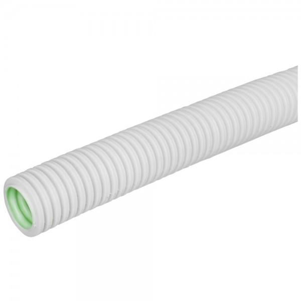 GEWISS® - flexibles mittleres Polyolefine- Isolierrohr, metrisch, gewellt, grau-FK-MF, M 16mm, 100m