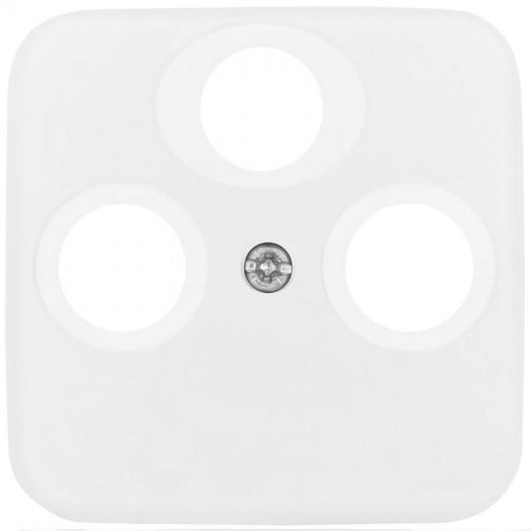 BUSCH-JAEGER® -REFLEX SI® - Zentralplatte, für TV/Radio/SAT- Antennensteckdose, alpinweiß