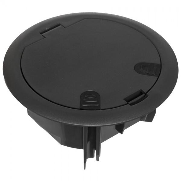 EFAPEL® - Boden- und Wandeinbaudose mit Klappdeckel, für 2 Module 45 x 45 oder 4 Module 22,5 x 45