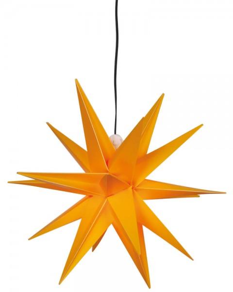Weihnachtsstern, gelb, Ø 25cm, 1 x E14/15W